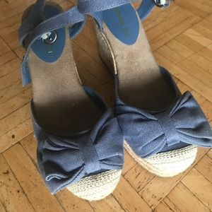 Jeans sandals in good condition